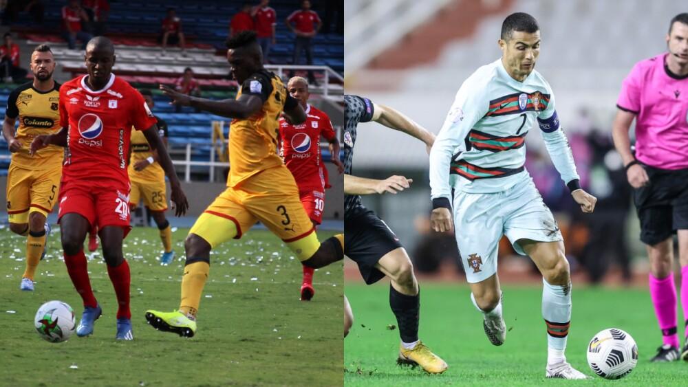 América vs Medellín y Cristiano Ronaldo.