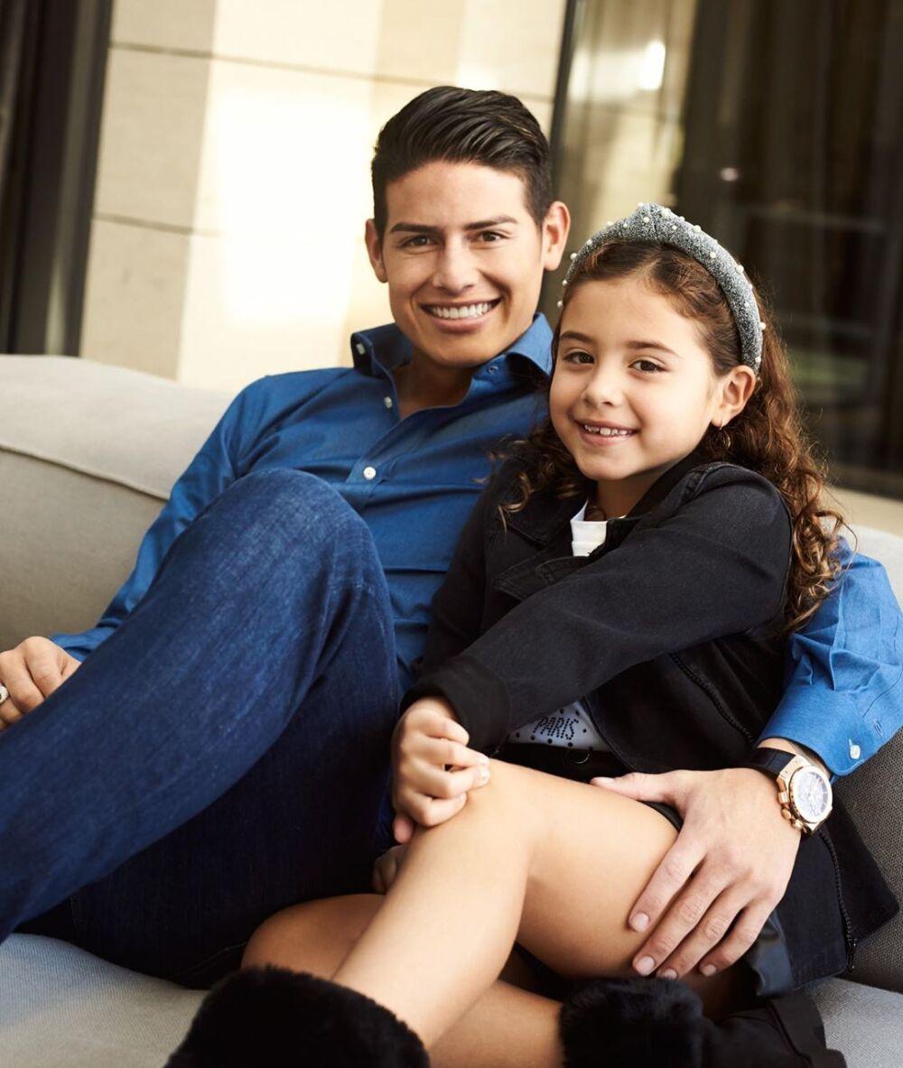 James y Salomé Rodríguez