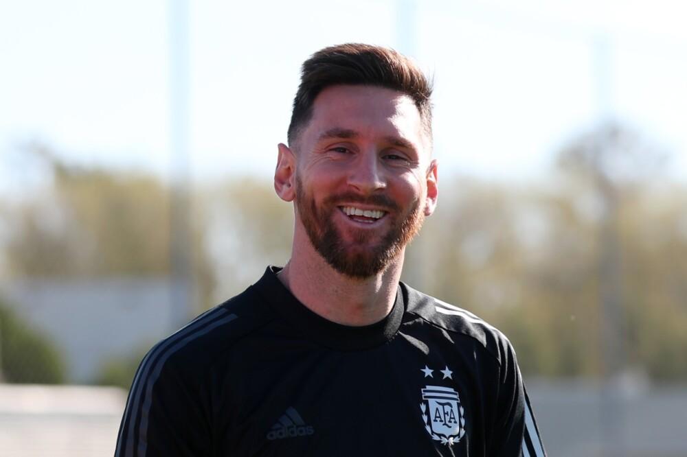 Lionel Messi, jugador de la Selección Argentina