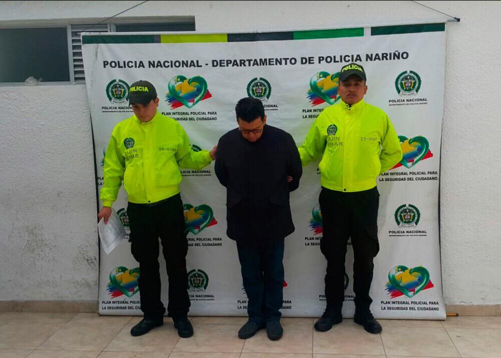 141168_BLU Radio. Orlando Arciniegas / Foto: Policia Nacional