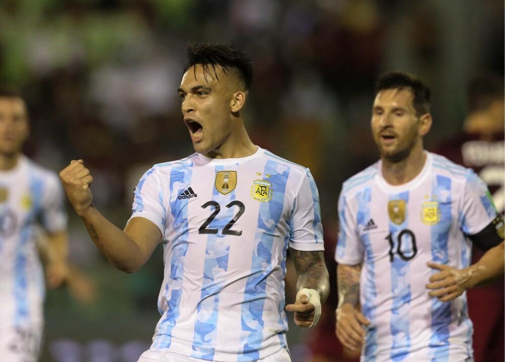 Lautaro celebrando su gol contra Venezuela Foto AFP.jpg