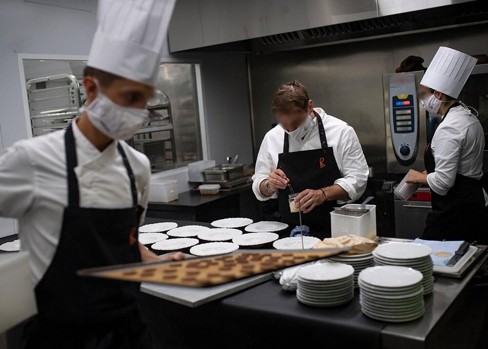 369088_Reapertura de restaurantes // Foto: AFP, imagen de referencia