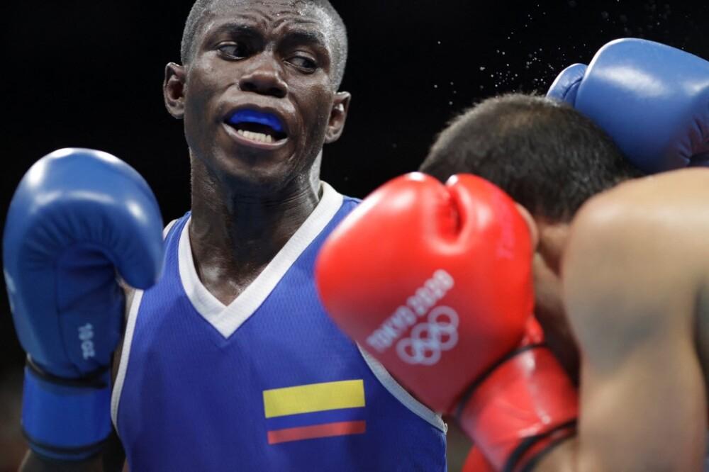 Yuberjen Martínez, boxeador colombiano