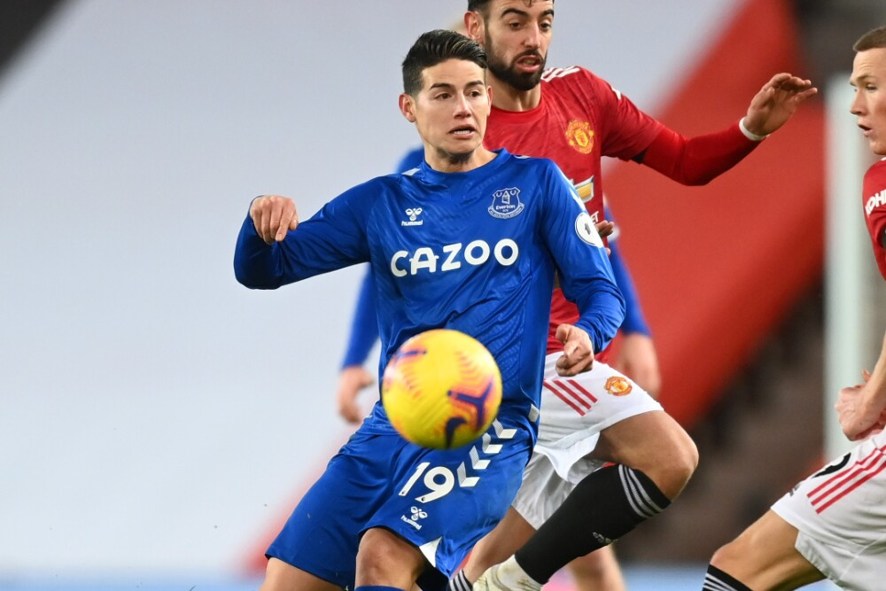James Rodriguez Everton Manchester United 070221 Getty Images E.jpg
