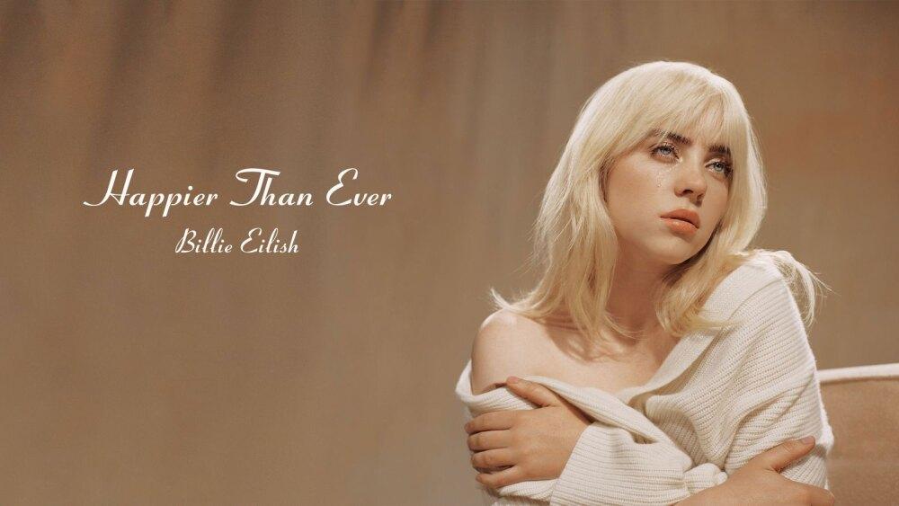 Portada de 'Happier Than Ever', segundo álbum de Billie Eilish