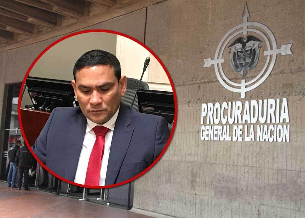 315727_Blu Radio. Didier Lobo. Foto: Twitter @didierlobo / Procuraduría General