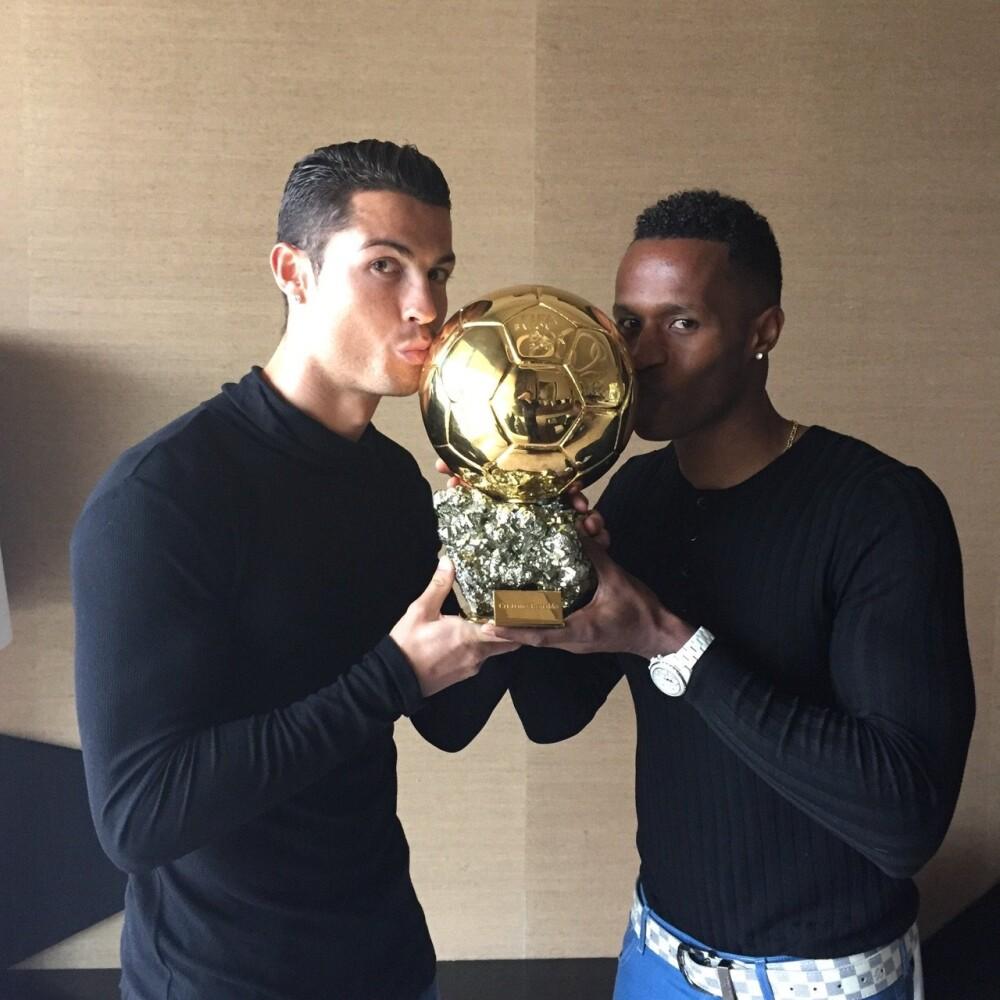 Cristiano Ronaldo y José Semedo