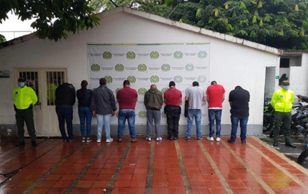 372759_Banda dedicada al robo de cobre. Foto: Cortesía