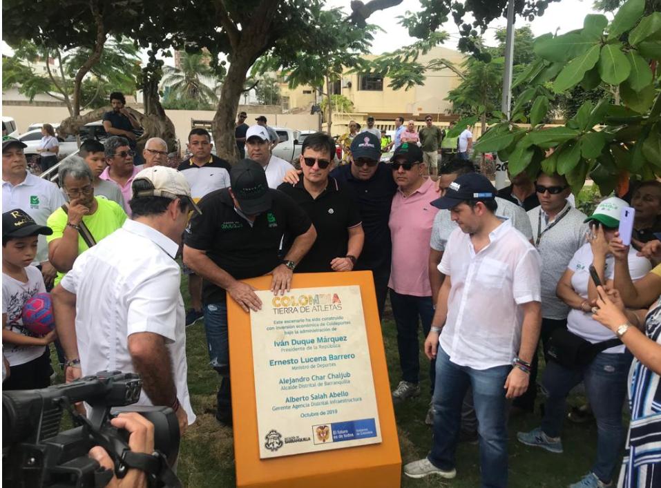348049_BLU Radio // Ministro del Deporte, Ernesto Lucena en Barranquilla // Foto: BLU Radio