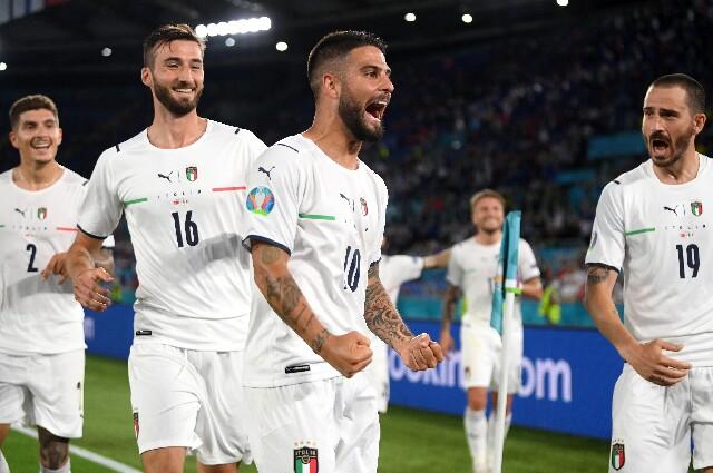 Italia contra Turquía en la Eurocopa