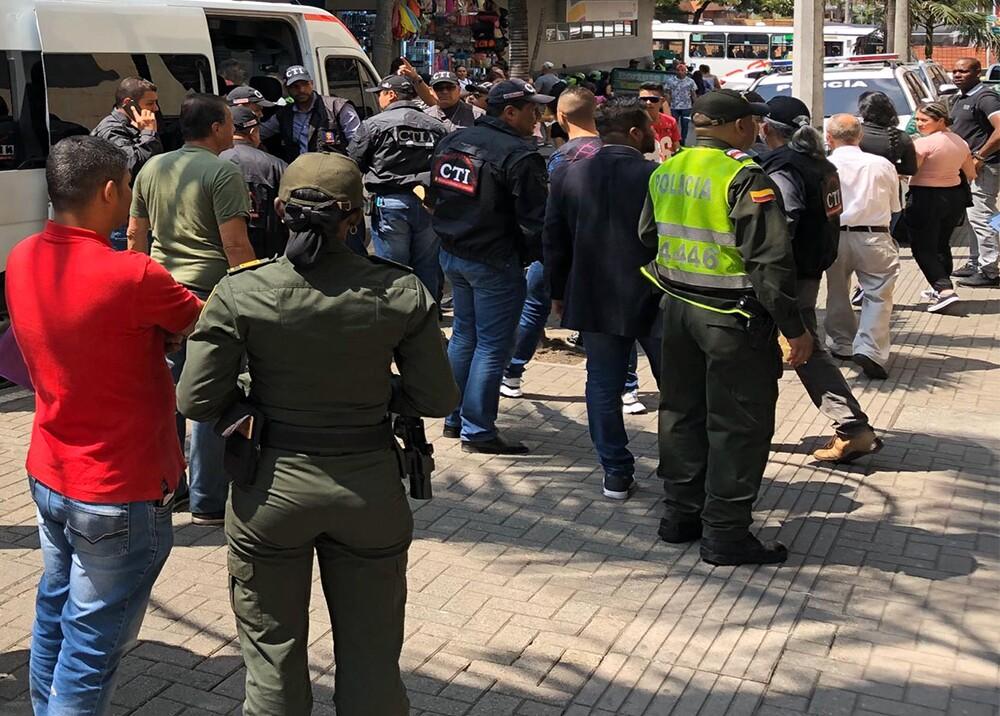 353463_Capturan a 22 policías en Medellín / Foto: Cortesía