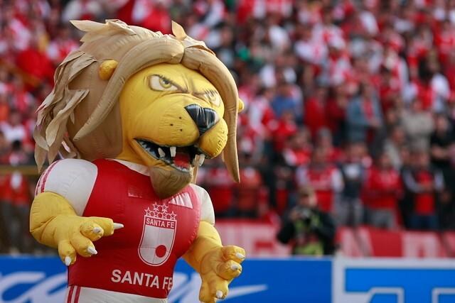 Monaguillo, mascota de Independiente Santa Fe