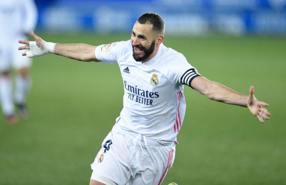 Karim Benzema, Real Madrid vs Alavés