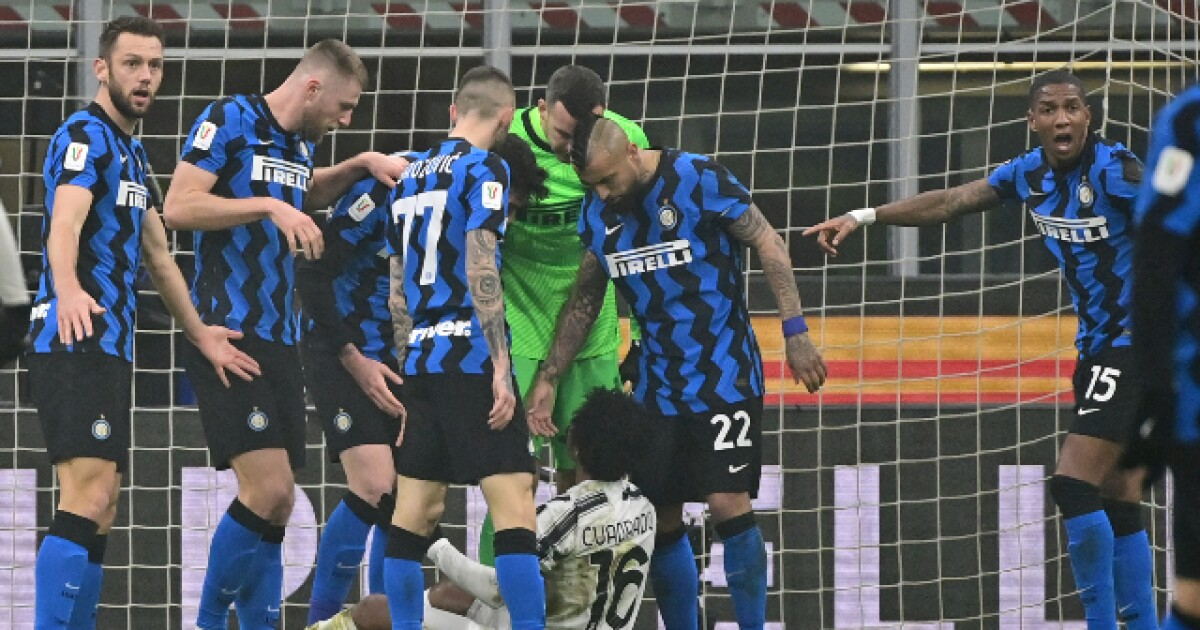 """""""El episodio más comentado del Inter vs Juventus, fue el penalti contra Juan Guillermo Cuadrado"""""""