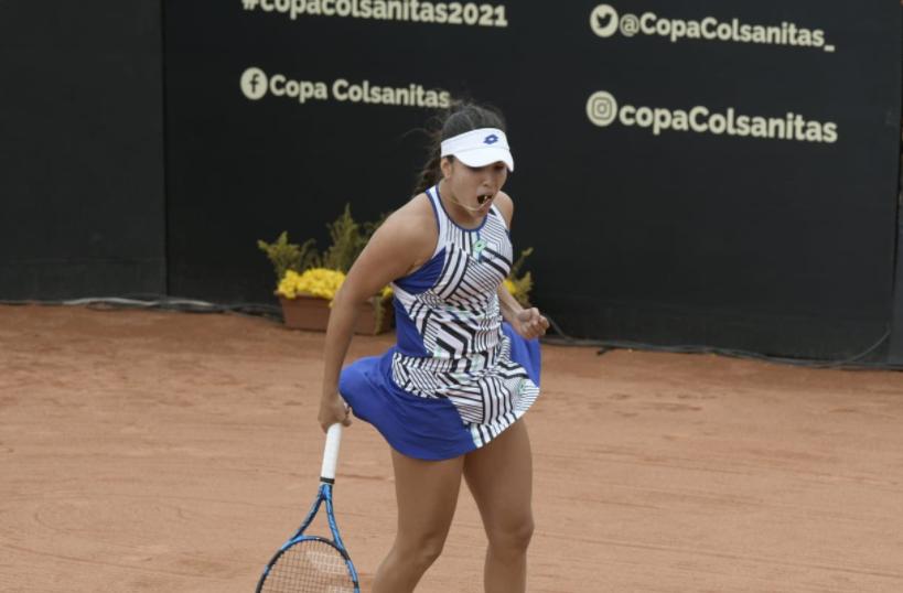 Camila Osorio le ganó a Sachia Vickery en la Copa Colsanitas.