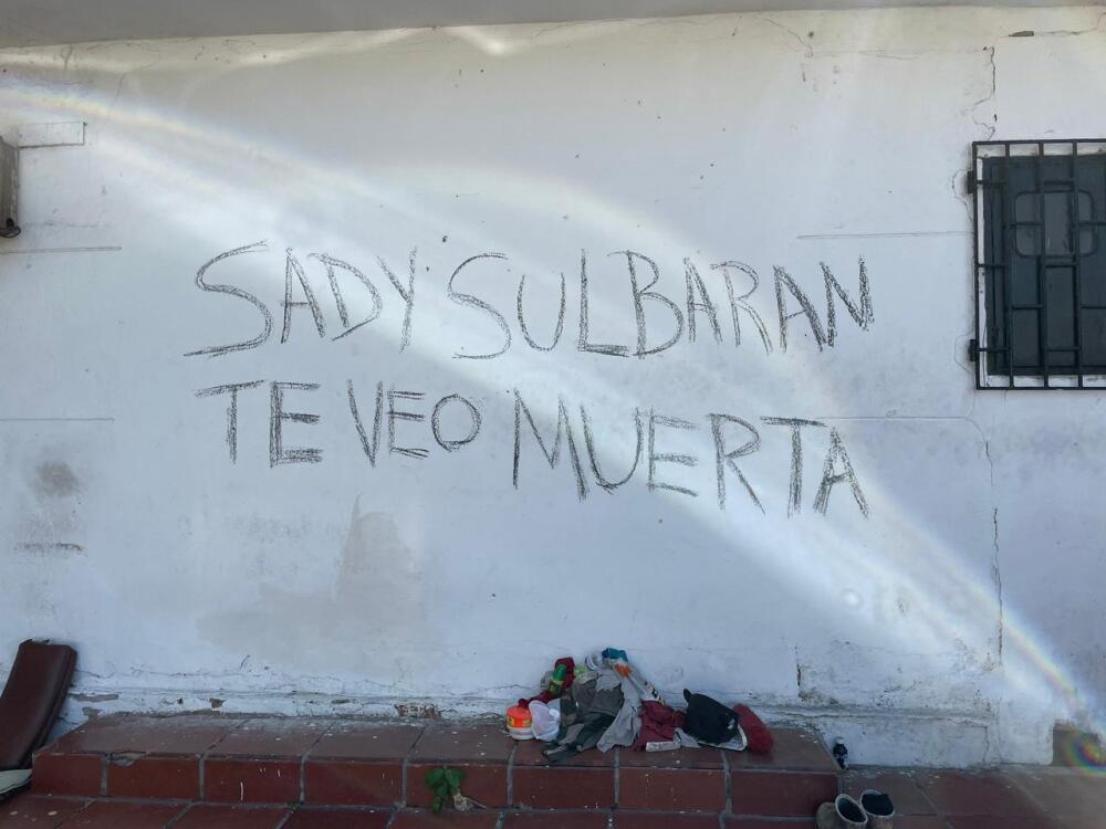 grafitis amenazas