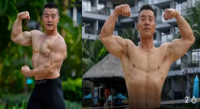 Hombre de 72 con apariencia de 30
