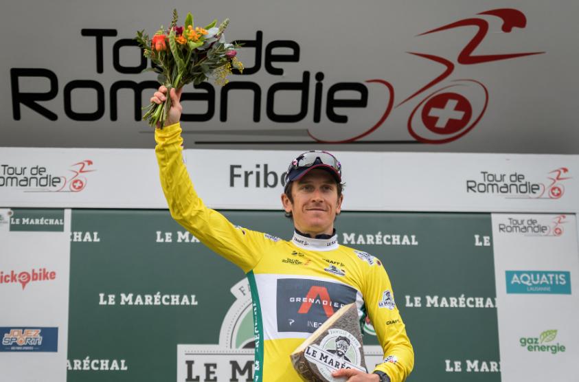 Geraint Thomas se coronó campeón del Tour de Romandía