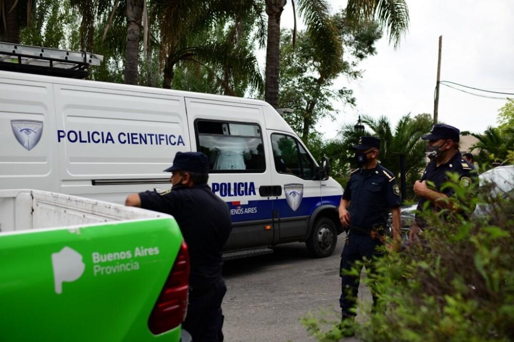 Policía científica de Argentina