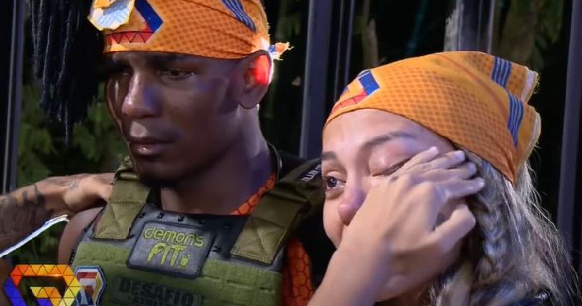 Participantes del Desafío rompieron en llanto con la salida de Razza del equipo Gamma