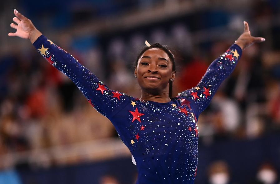 Simone Biles sueña con seis medallas de oro en los Juegos Olímpicos de Tokio 2020.