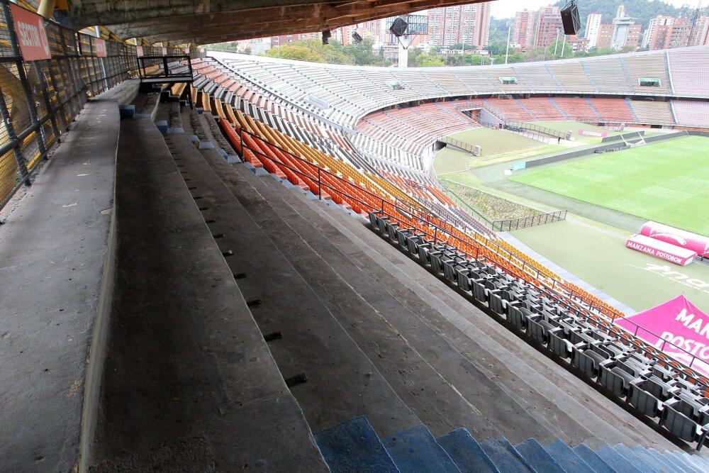 Obras estadio Atanasio Girardot en Medellín1.jpg