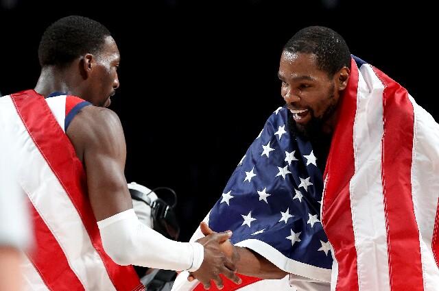 Kevin Durant, tras ganar el oro con Estados Unidos en Juegos Olímpicos