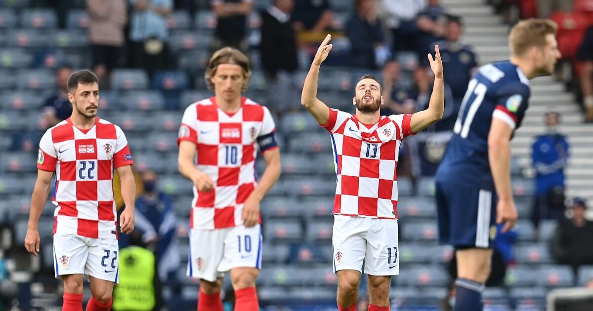 Los 'veteranos sacaron la casta': Croacia venció 3-1 a Escocia y clasificó en la Eurocopa