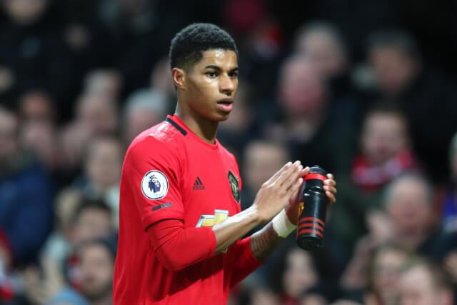 333257_Marcus Rashford, delantero deol Manchester United.