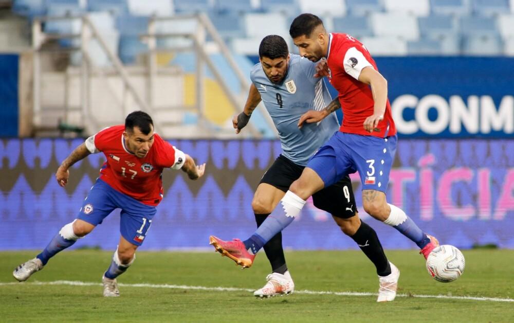 Selección Uruguay Chile AFP.