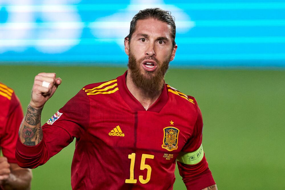 Sergio Ramos, futbolista Selección España