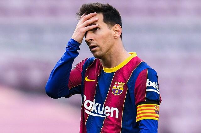 Lionel Messi, en Barcelona