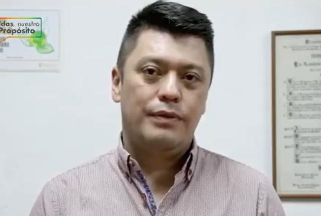 Broma a Mauricio Carmona, alcalde de Caldas, Antioquia, en transmisión en vivo.png