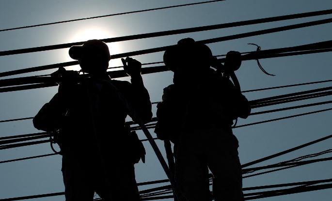 Cuatro electricistas fueron arrestados en Japón.