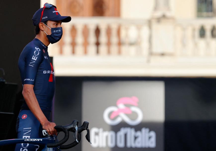 Egan Bernal es uno de los favoritos al título del Giro de Italia.