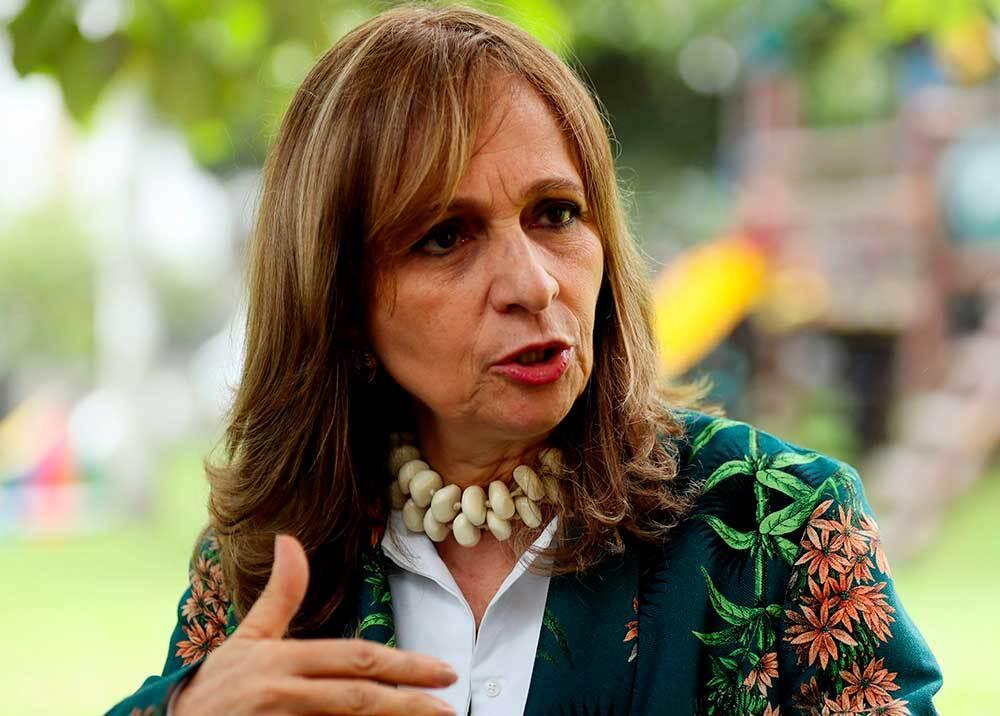 Ángela María Robledo // Foto:EFE