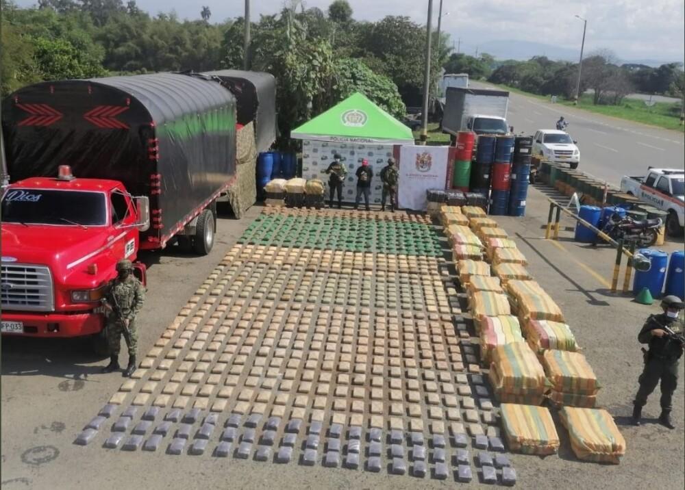 Autoridades incautan cinco toneladas de marihuana a disidencias de las Farc en Cauca Foto Twitter.jpg