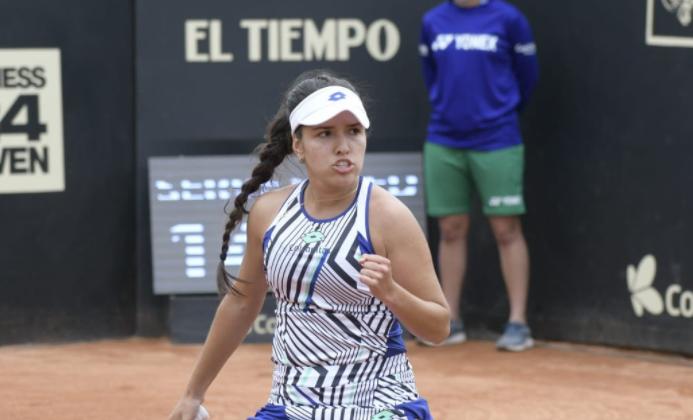 Camila Osorio jugará la final de la Copa Colsanitas.