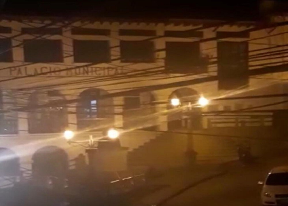 361623_BLU Radio. Fiesta en Alcaldía de Puente Nacional en cuarentena / Foto: captura de video