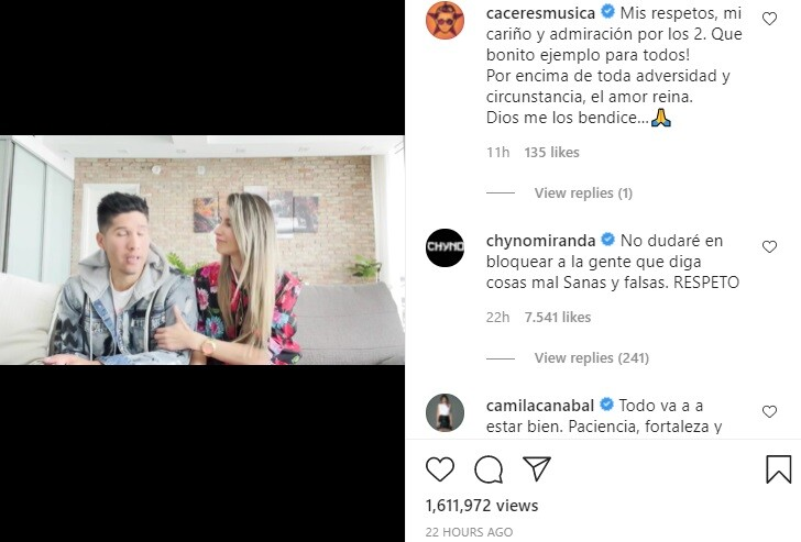 Chyno Miranda bloqueará a quienes hagan falsos comentarios