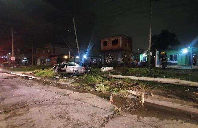 conductor asesinado frente a familia