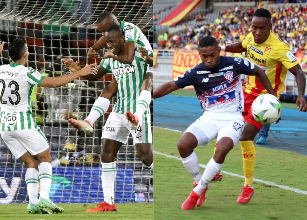 Atlético Nacional Junior y Deportivo Pereira Foto Dimayor.jpg