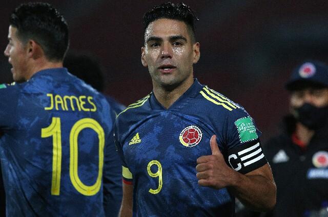Falcao García, en la Selección Colombia