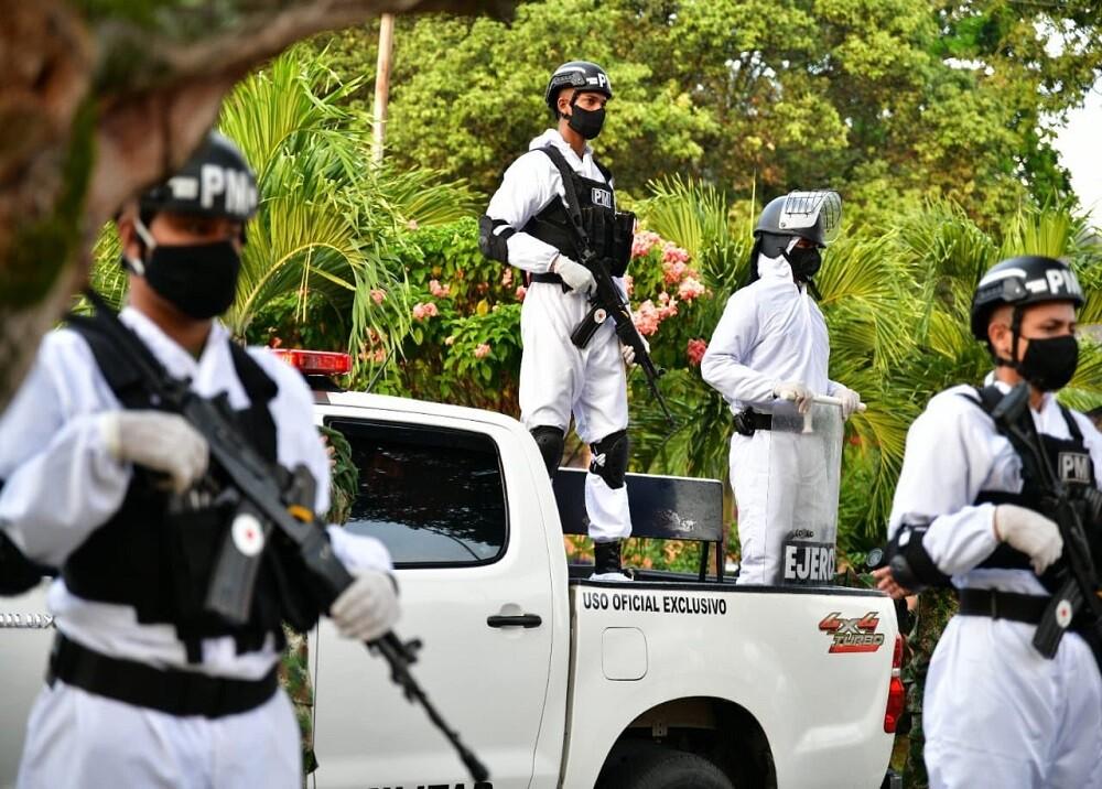373396_Militarización en Bucaramanga por casos de COVID - 19 / Foto: Gobernación