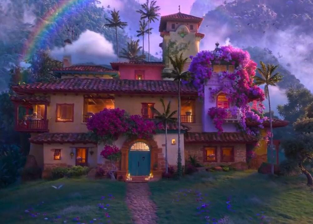 Encanto película de Disney inspirada en Colombia. Foto Twitter @DisneyAnimation