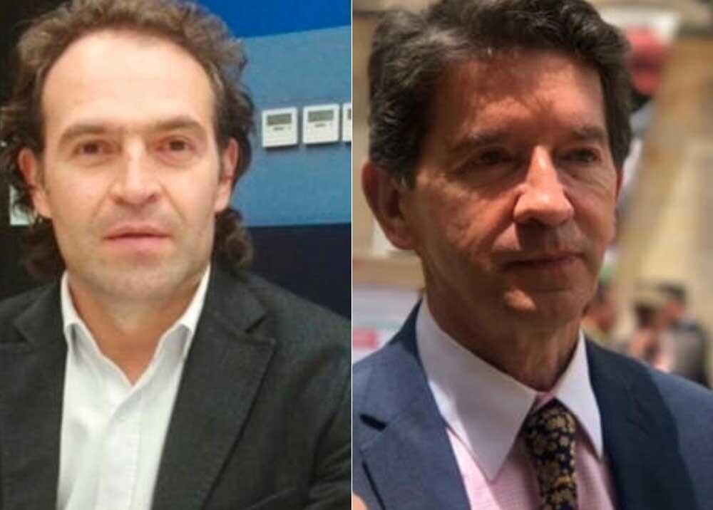 308178_Blu Radio. Choque entre Federico Gutiérrez y Luis Pérez por Hidroituango / Foto: Blu Radio