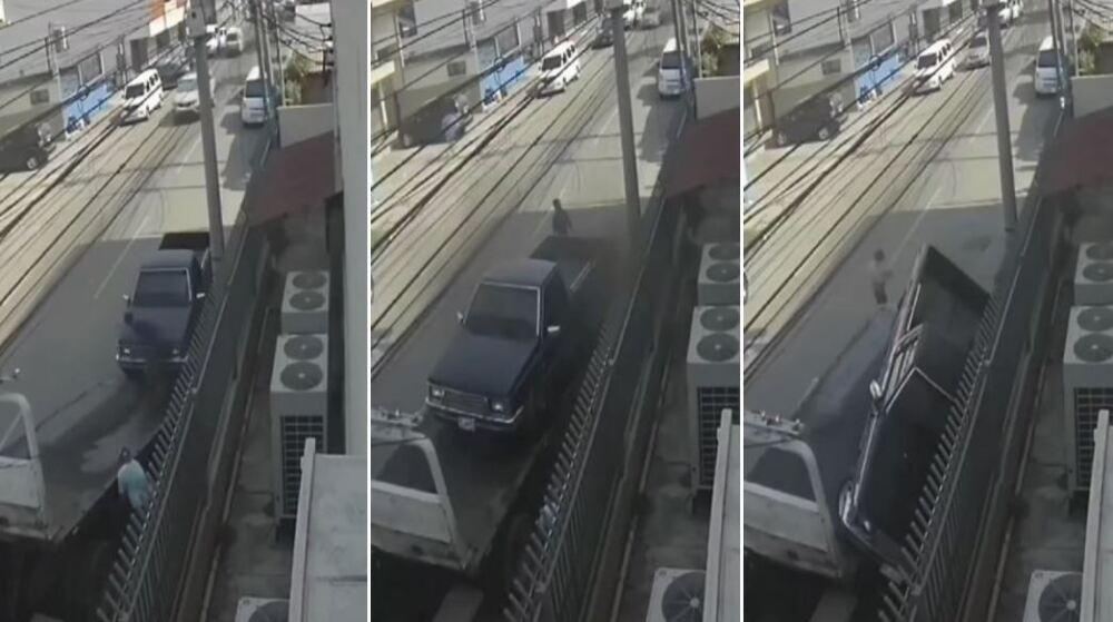 conductor muere aplastado por grúa en honduras