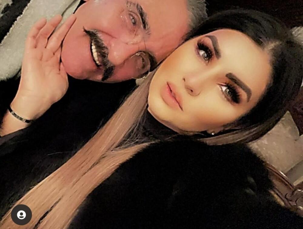 Vicente Fernández Jr y su novia Mariana