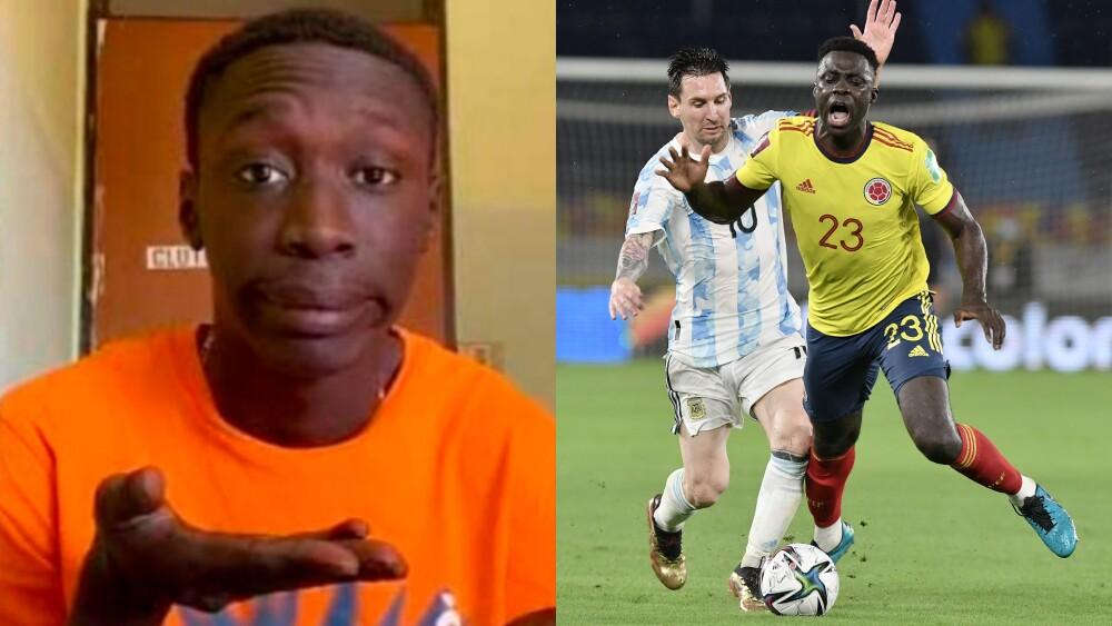Empate entre la Selección Colombia y Argentina