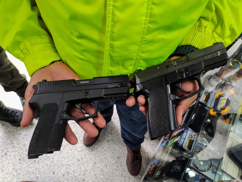 Armas de fogueo y traumáticas. Foto ilustración.